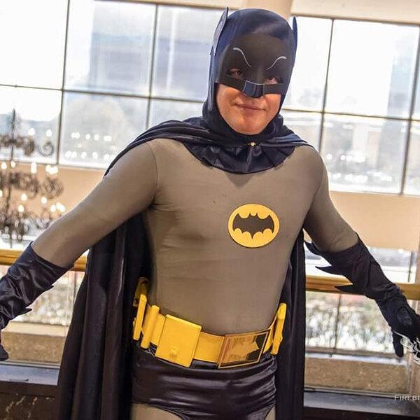 Greg Burrow as Batman