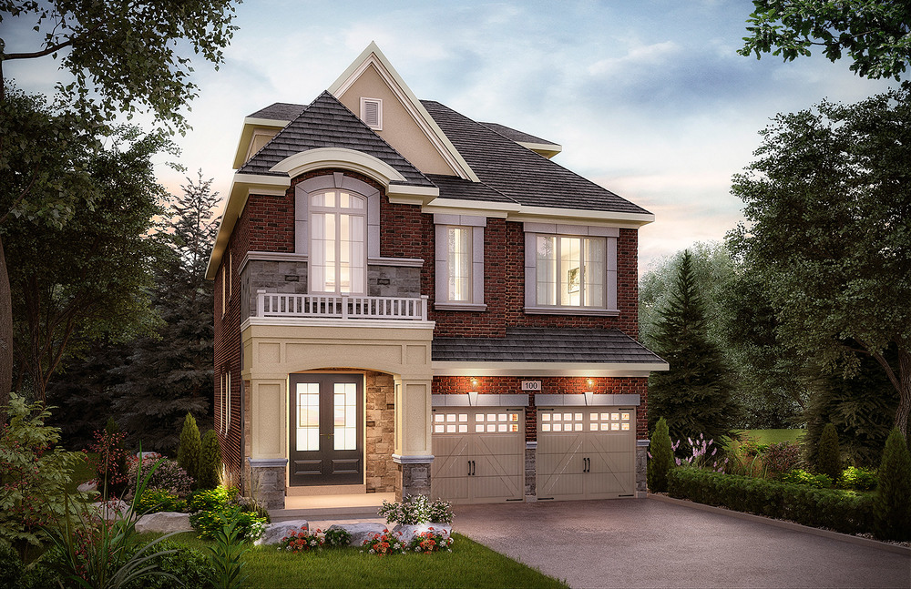 The Simcoe. 38 Ft. Lot - 3029/3026/3030 SF