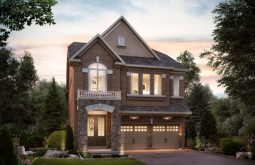 The Berczy. 38 Ft. Lot - 3224/3209 SF