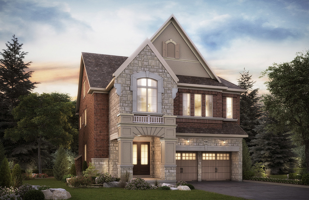 The Elgin. 40 Ft. Lot - 3475/3480 SF