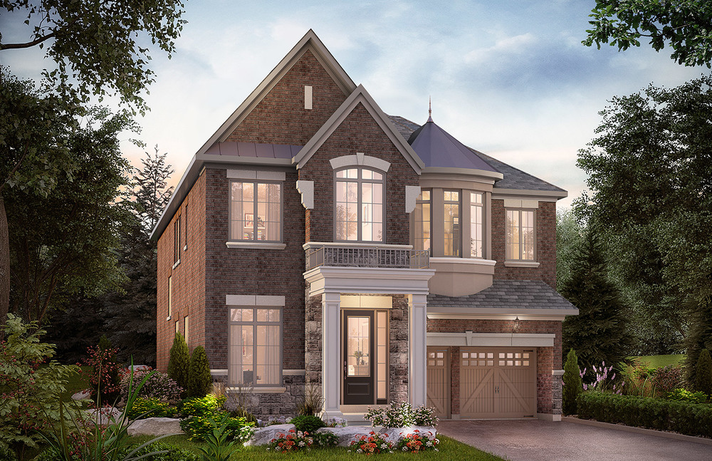 "4203 - Oak Ridges Taylor, Elev. ""A""  - 3589 Sq. Ft."