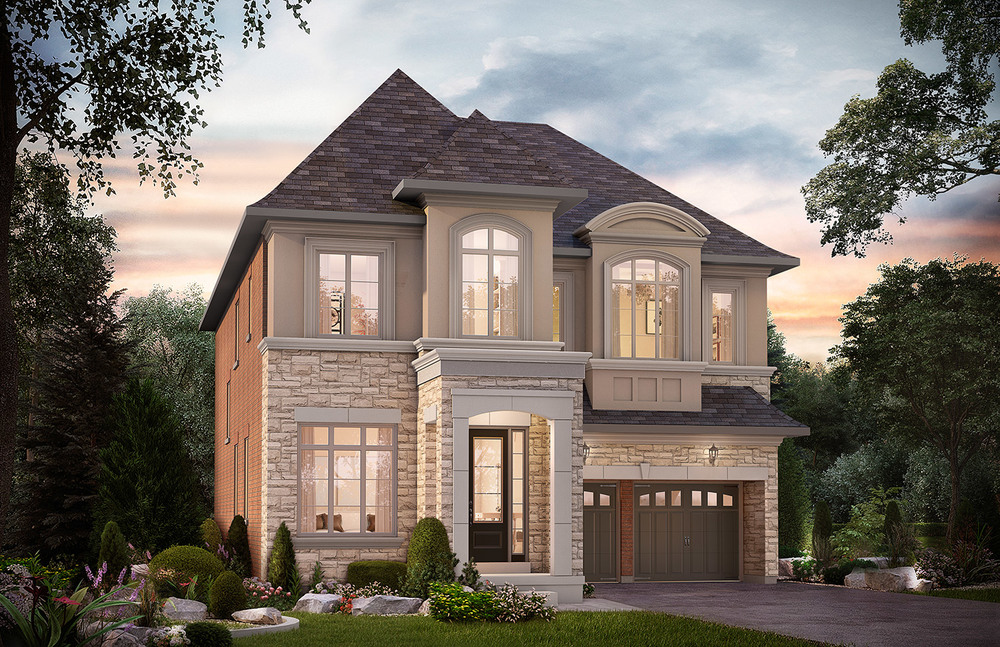 "4203 - Oak Ridges Taylor, Elev. ""B""  - 3591 Sq. Ft."