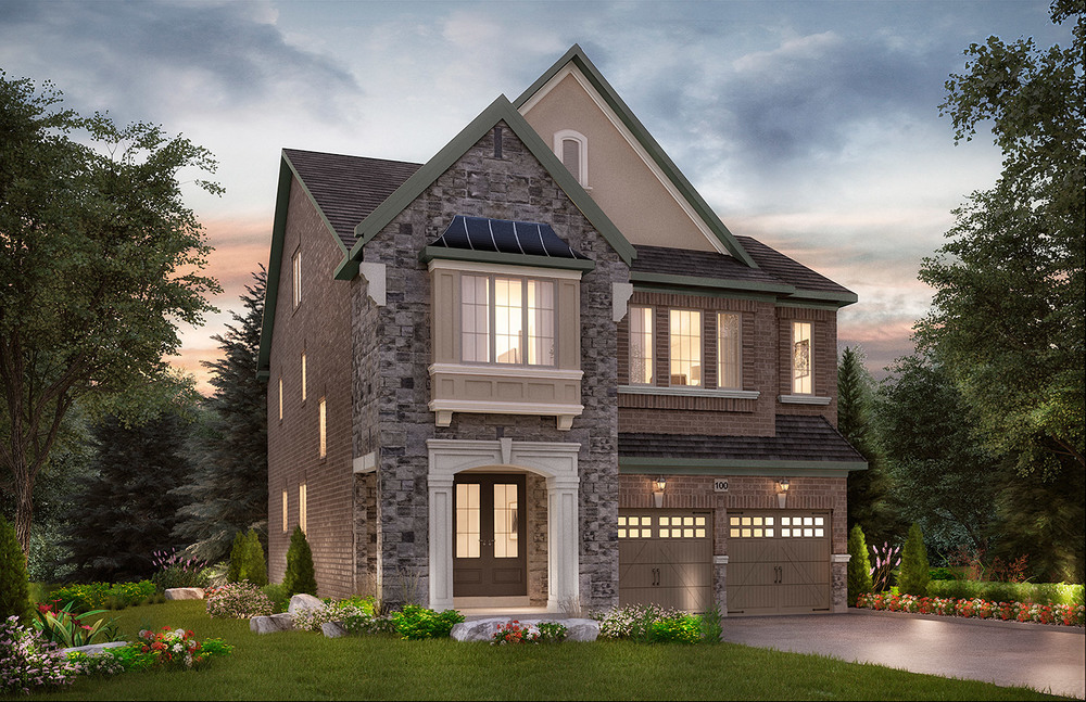 "4004 - Oak Ridges Cook, Elev. ""A""  - 3236 Sq. Ft."