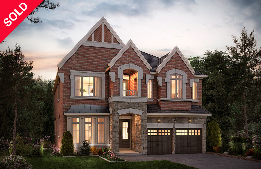 "5002 - Oak Ridges Headford, Elev. ""A""  - 3964  Sq. Ft."