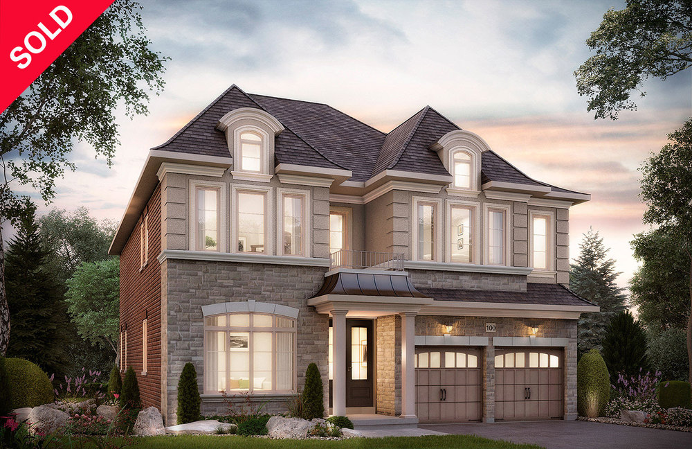 "5002 - Oak Ridges Headford, Elev. ""B""  - 3962 Sq. Ft."