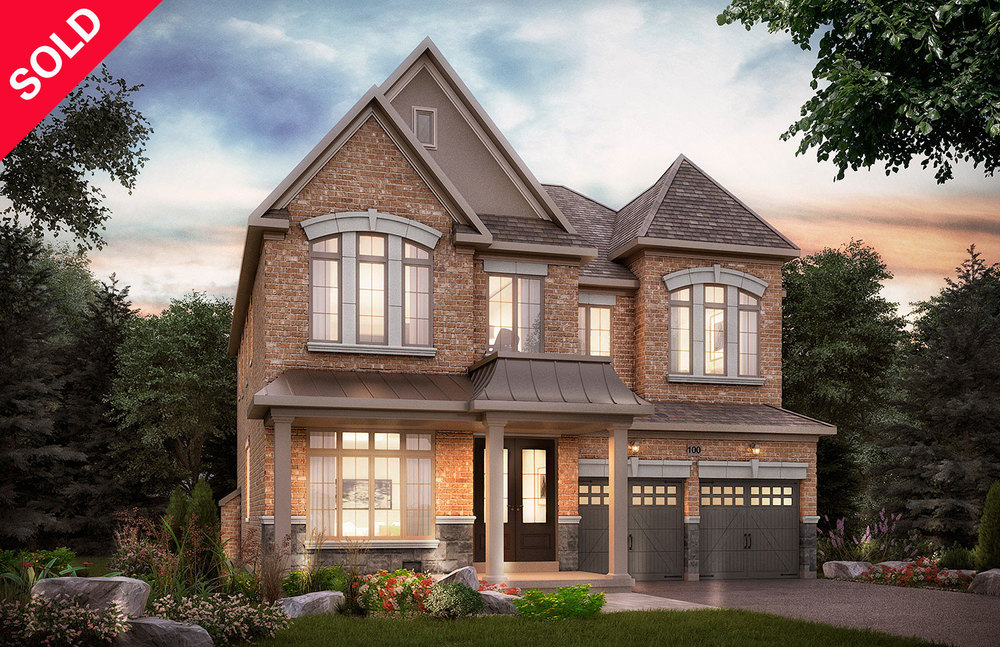 The   Oak Ridges   Burr, 50 Ft. Lot - 3832/3862     Sq. Ft.