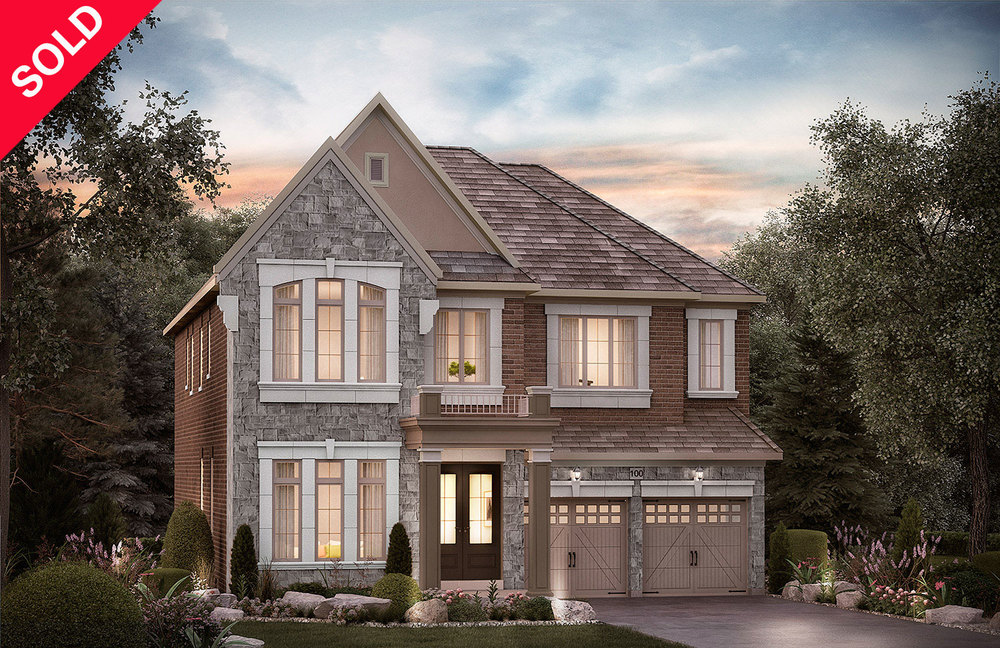"5003 - Oak Ridges Routledge, Elev. ""A""  - 4139  Sq. Ft."