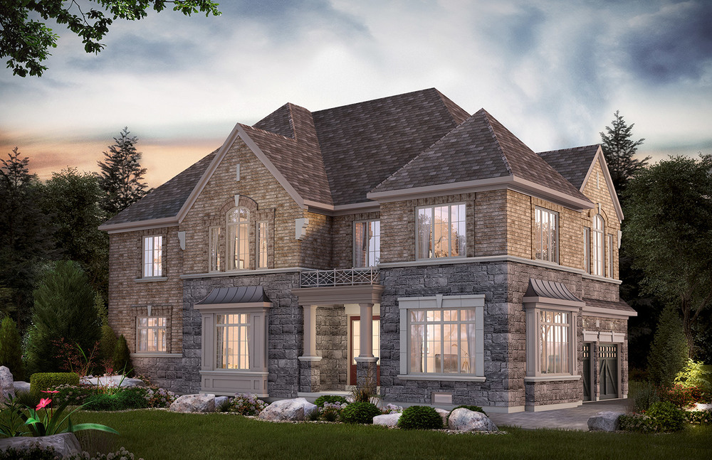 The Oak Ridges Leslie, 50 Ft. Corner Lot - 3798/3814 Sq. Ft.