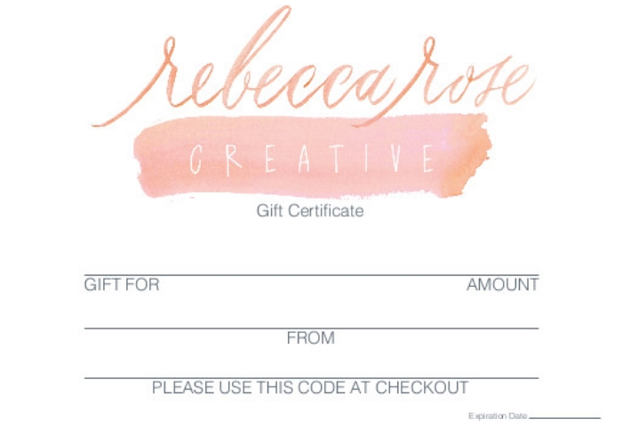 Rebecca Rose Creative gift card - front.jpg
