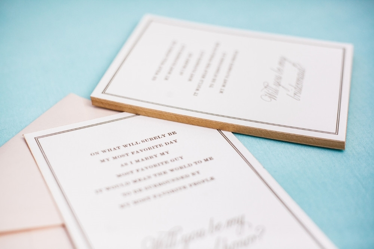 Will You Be My Maid of Honor Card — Rebecca Rose Creative