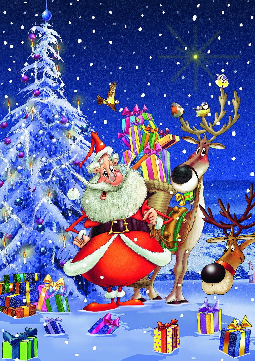 Happy Santa (5495)
