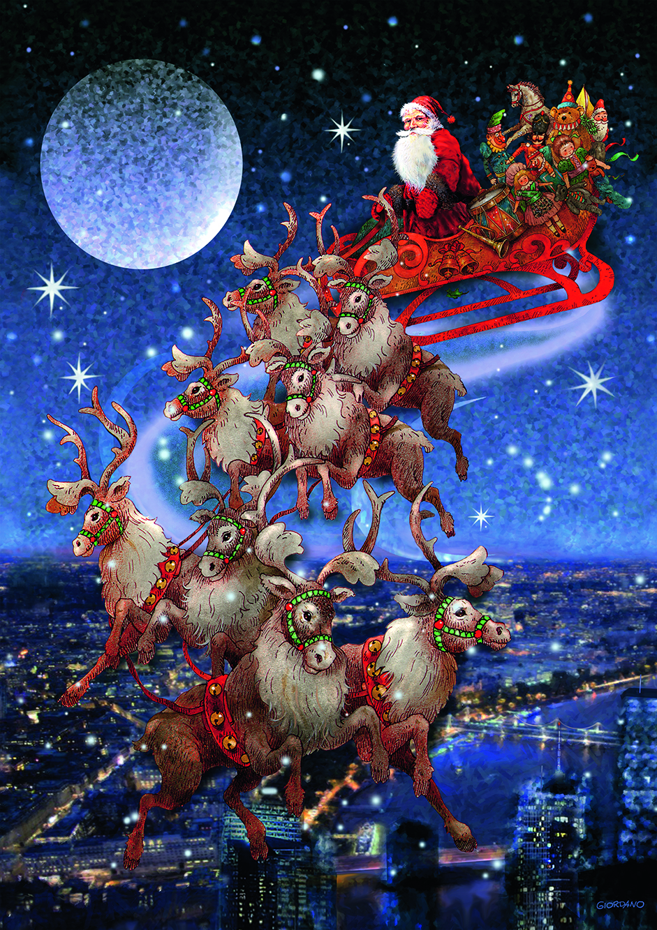 Santa's Sleigh (5497)