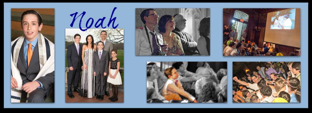 A custom song made Noah's bar mitzvah very special.