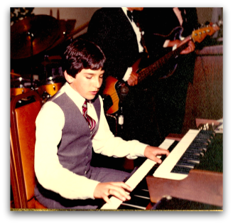 Young David before he wrote custom songs