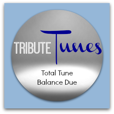 Total Tune Custom Song Balance Due