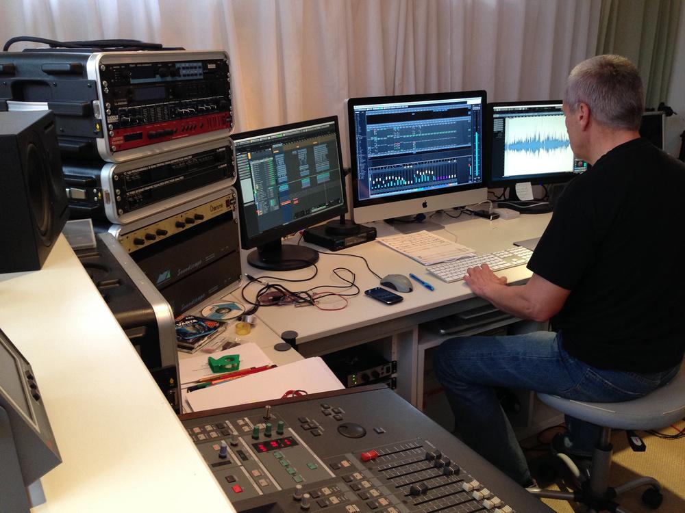 Mein MCM Music Studio...
