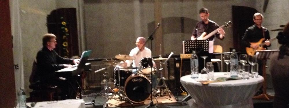 Jazz&Wine, super Stimmung in den Klangwelten... Danke (-: an meine tollen Musikkollegen vom Joe Resl Quartett.