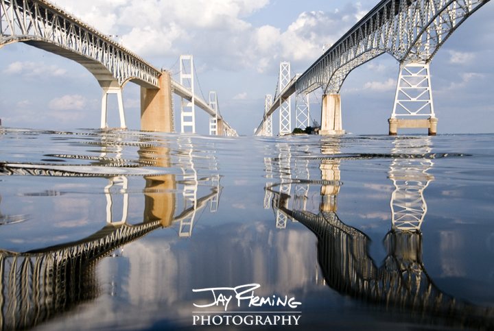 Chesapeake Bay Bridge. Annapolis, Maryland