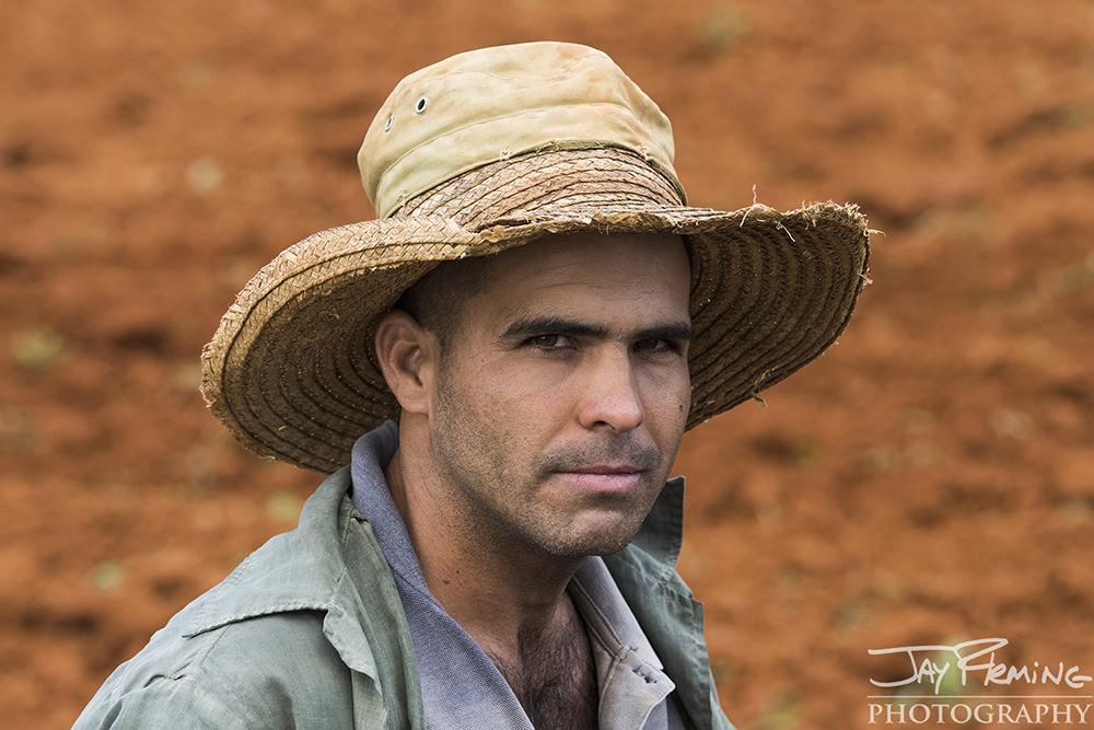 Farmer, Raul Gonzalez. Puerto Esperanza