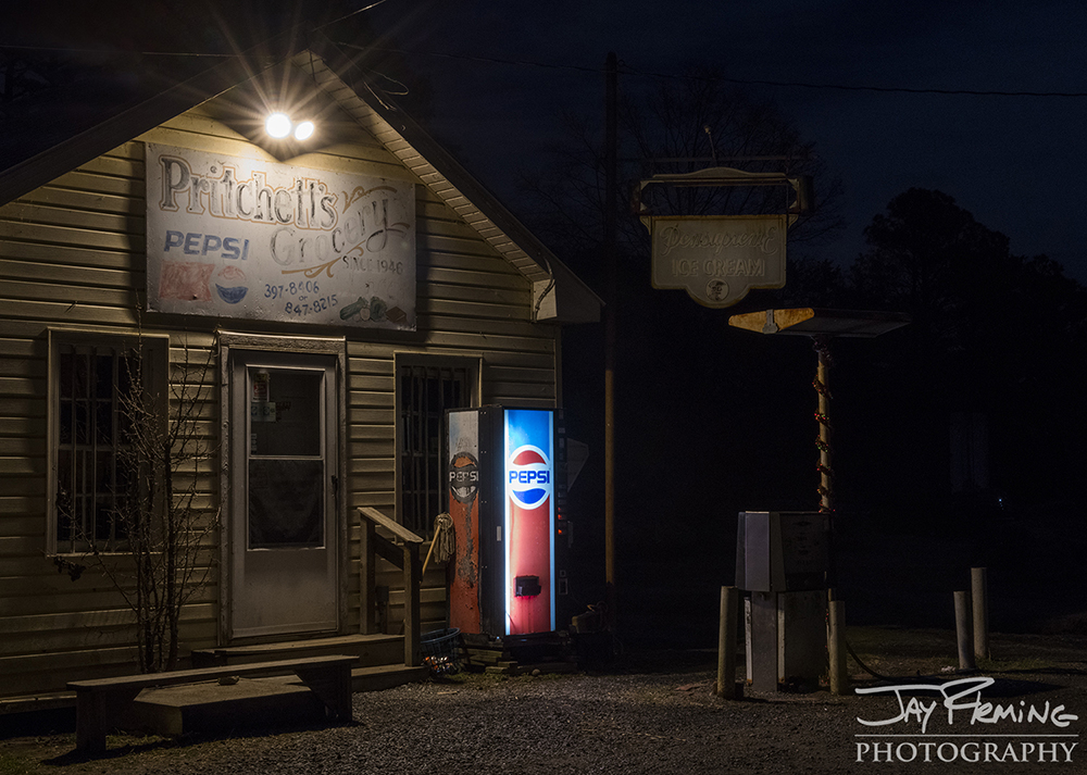 Pritchett's Grocery - the last store on the Bishops Head peninsula. Crocheron, Maryland