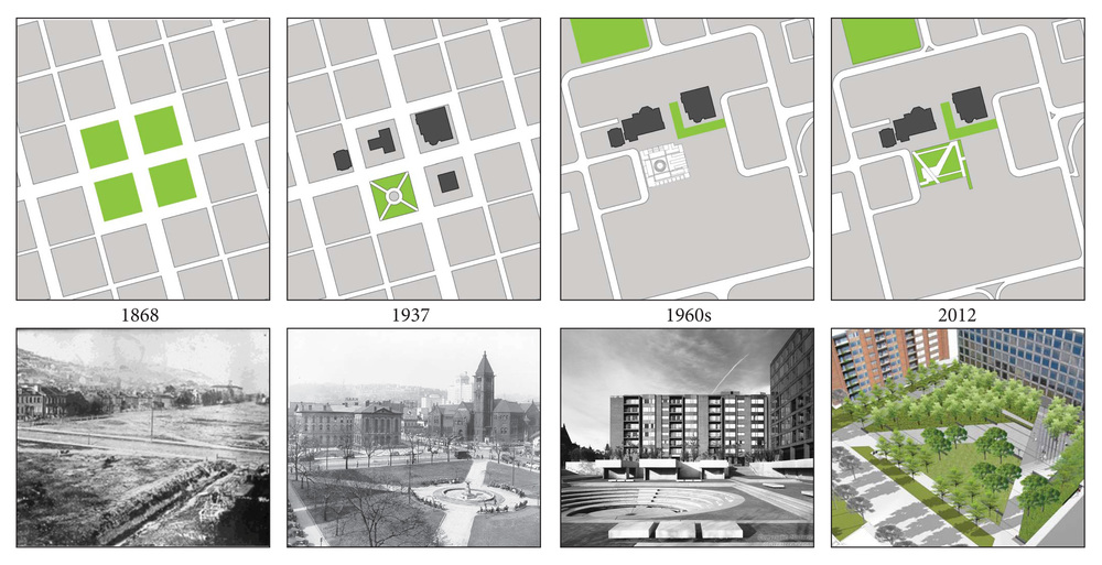 History of Allegheny Public Square