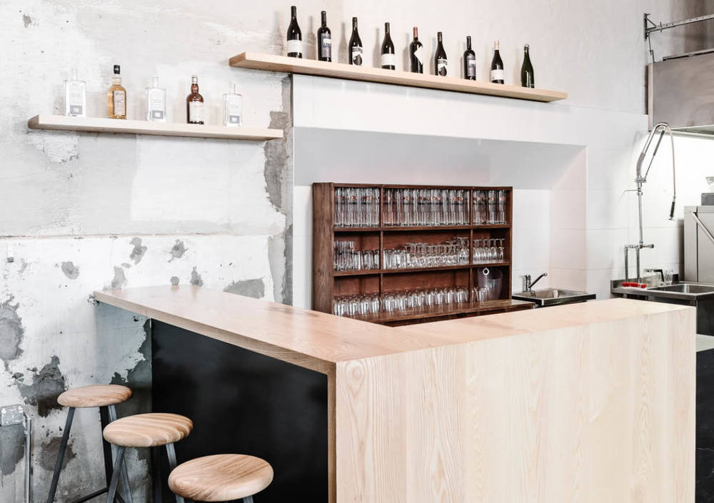 B-SMOKERY BAR INTERIOR & FURNITURE  DESIGNED &  BUILT WITH WESLEY WALTERS & VEERA SIEVÄNEN  ASH & STEEL  2015