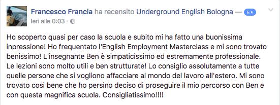 recensione corsi inglese intensivi a bologna