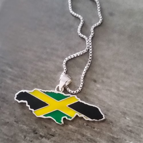 Jamaica necklace lacquer pendant global citizens jewelry jamaica necklace lacquer pendant aloadofball Image collections