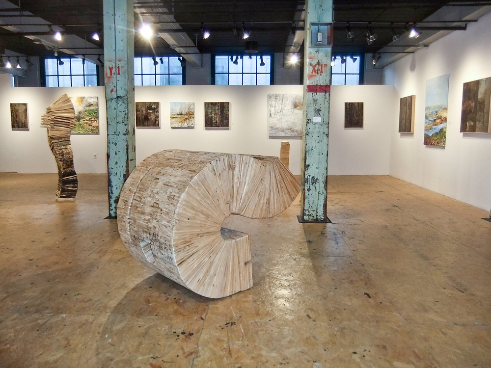 'Common Thread' installation view.