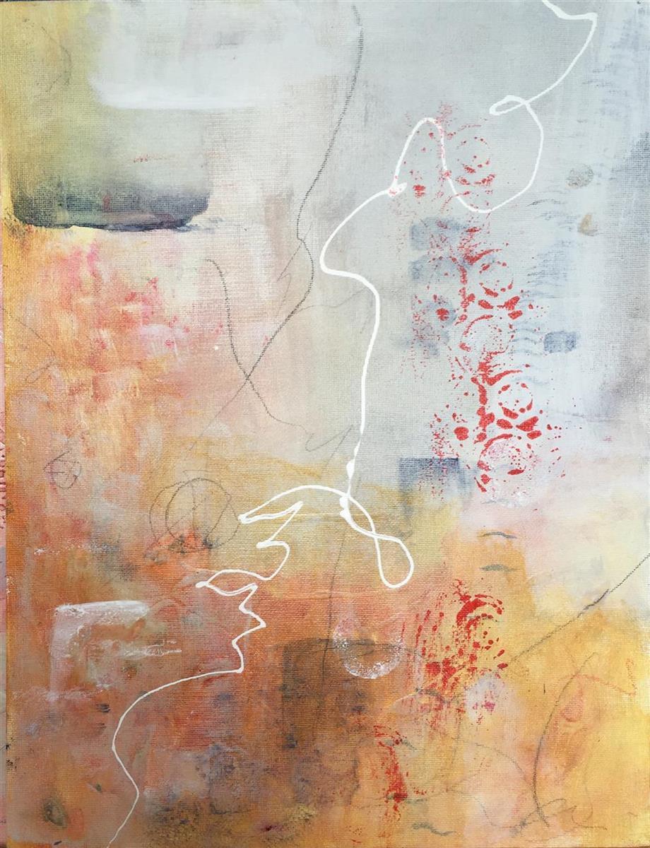 Robin Colodzin,   Simplicity  , acrylic, 12x16, $400