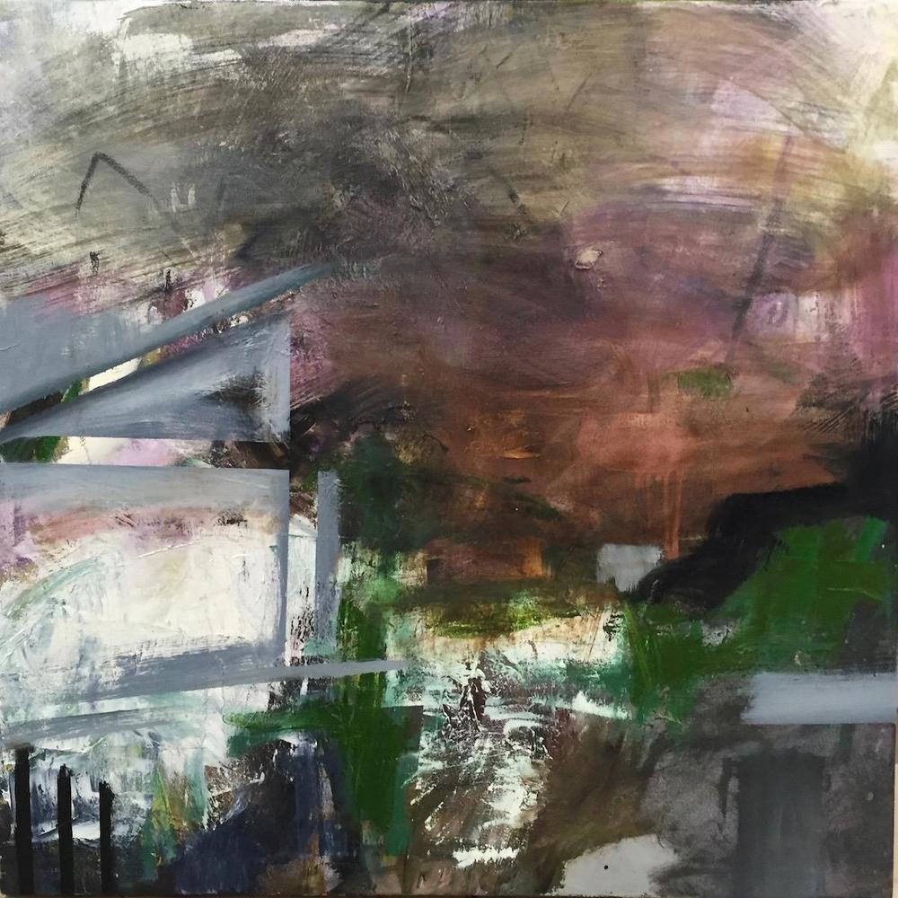 Elena duPlessis,   Refuge II  , oils,30x30