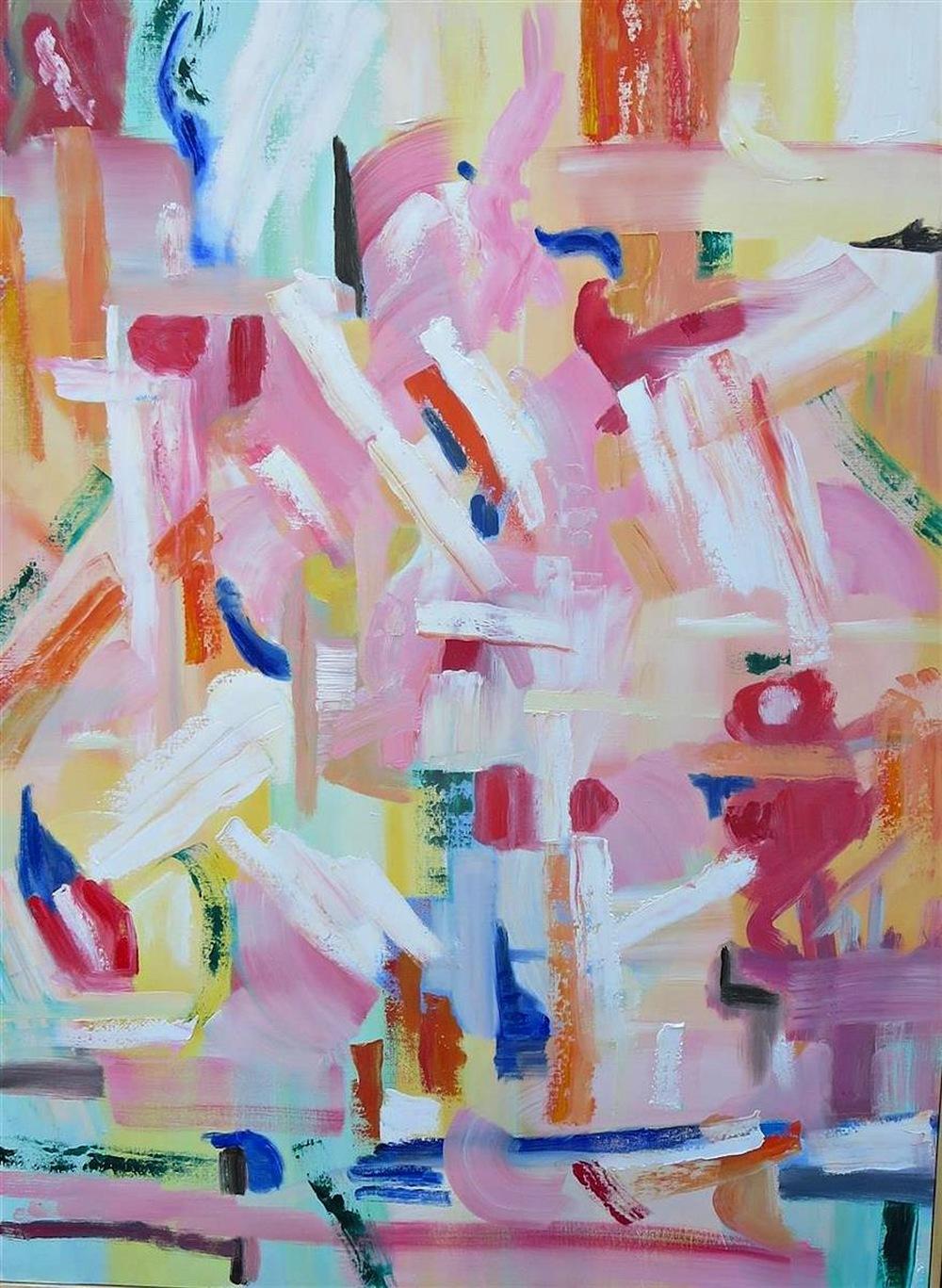 Christine Frisbee,   Bright Idea  , oils, 30x40, $1,800