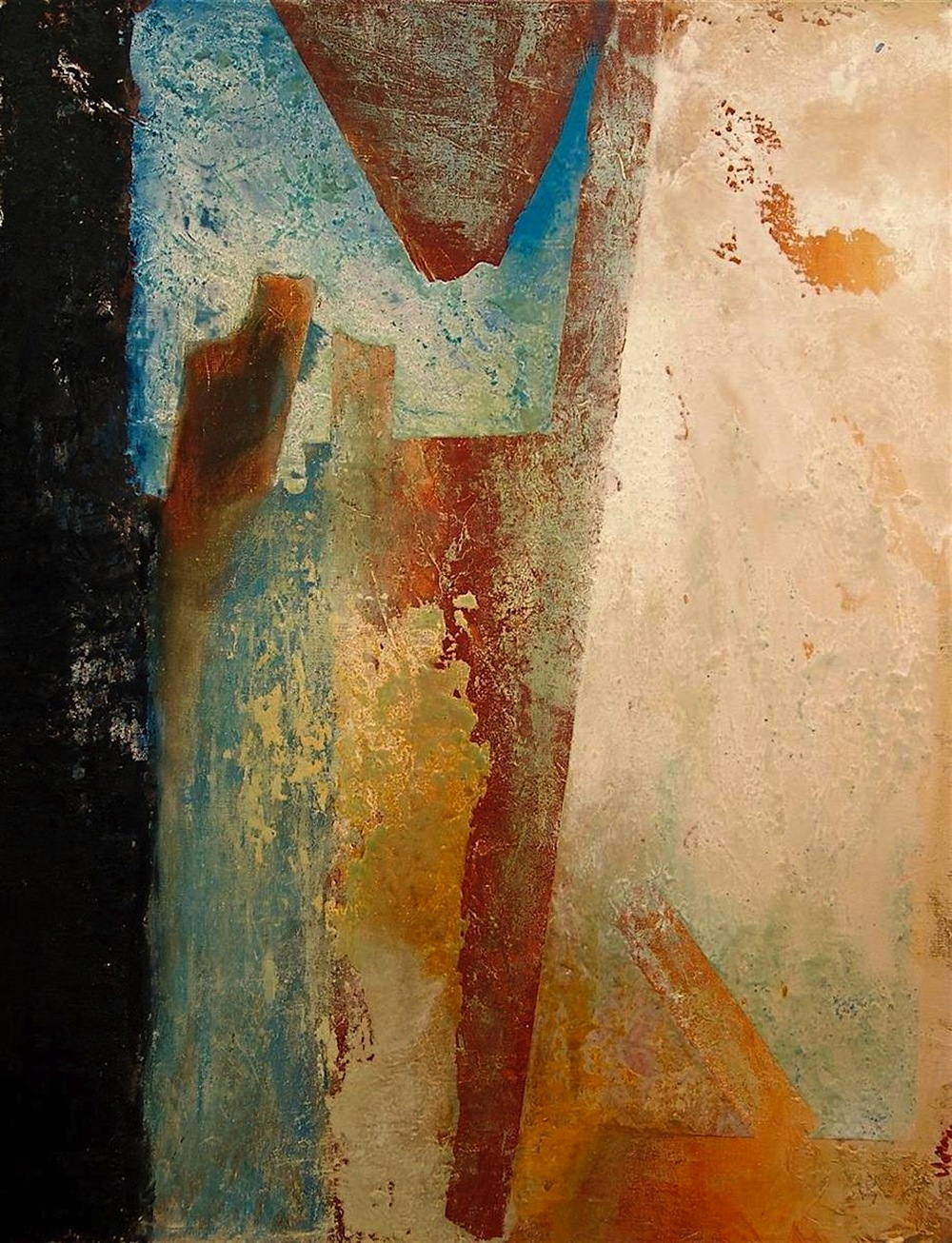 Nella Lush,   Fragment  , oils, 24x30, $2,900