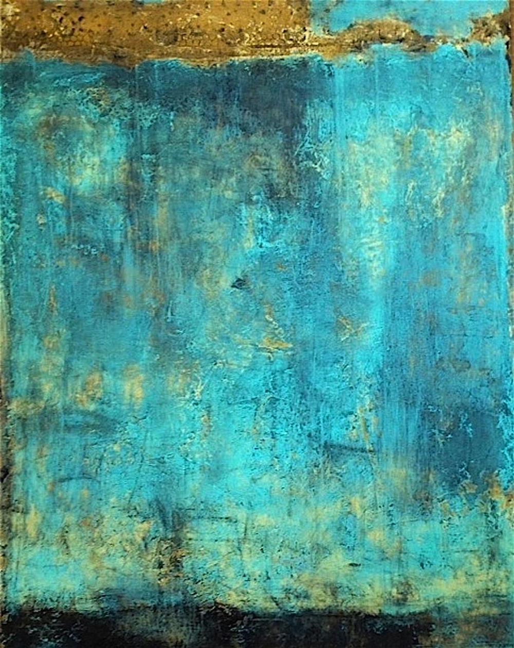 Nella Lush,   Venetian Dreams  , fresco , 36x48, $5,900