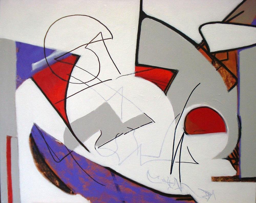 Pat Paxson,   Dream Half-Remembered  , acrylics, 30x24, $1,400