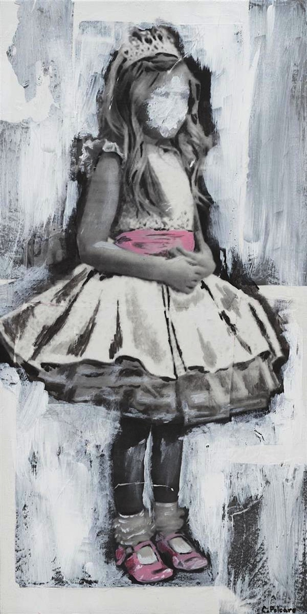 Cheryl Polcaro,   Untitled  , 12x24, $600