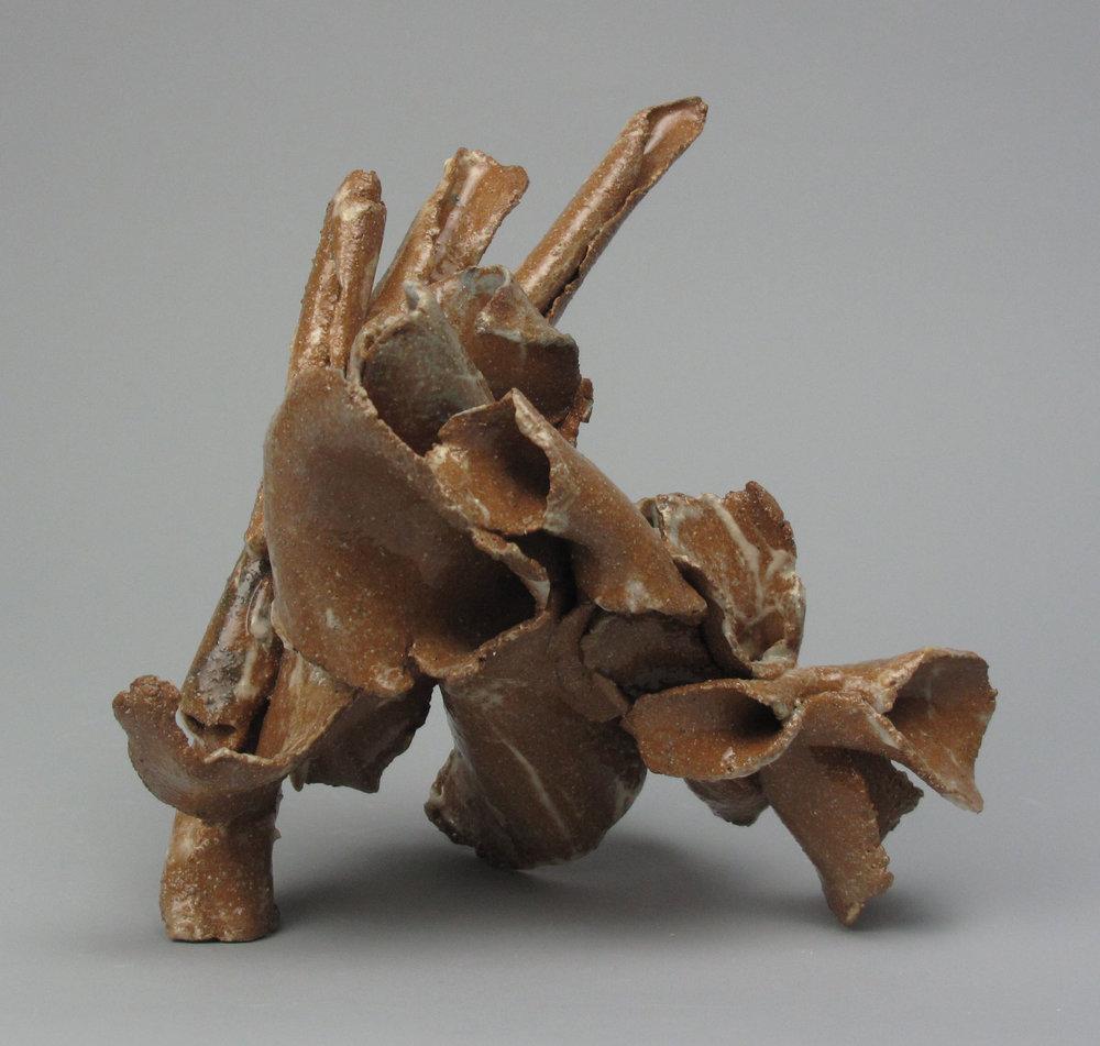 Sara Fine-Wilson,  Knot , clay, 4x3x3
