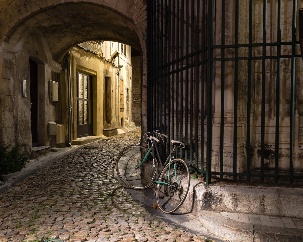 Vicki McKenna,  One Evening in Avignon  , archival pigment print, 23x18