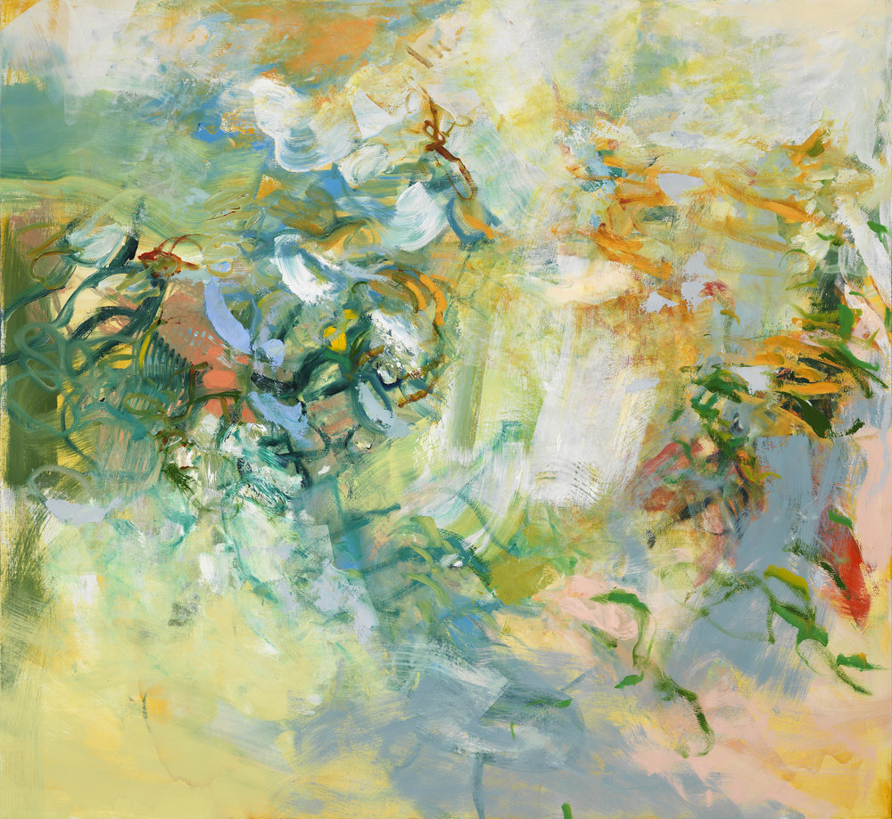 Kathy Soles,  In the Dunes , Oil on canvas, 48x52
