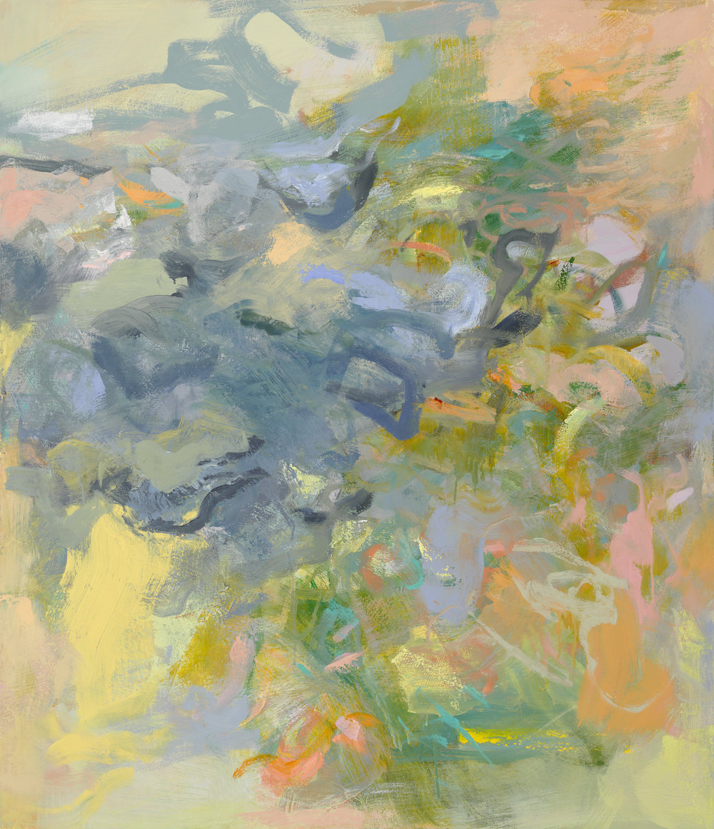 Kathy Soles,  Moment , Oil on canvas, 44x38
