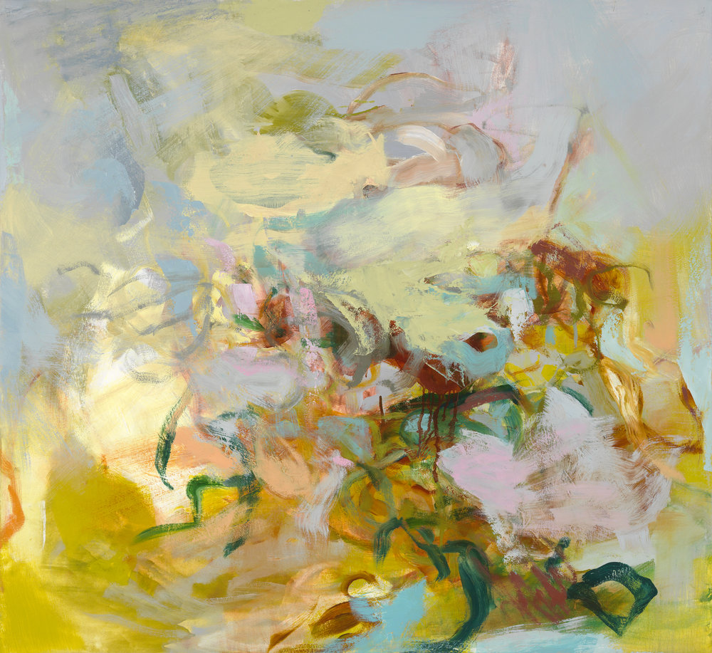 Kathy Soles,  Windswept , Oil on canvas, 44x48