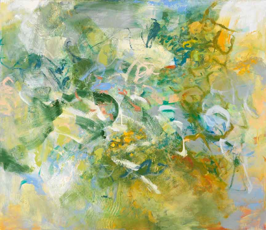 Kathy Soles, Windblown, Oil on canvas, 38x44