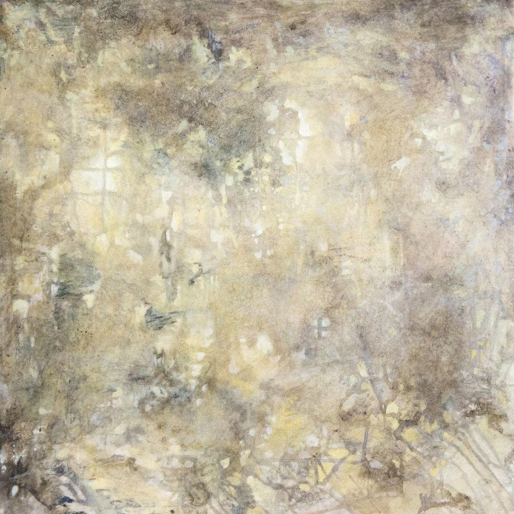 """C. Clinton   Mystery Light Dawn  acrylic on canvas 30x30"""""""