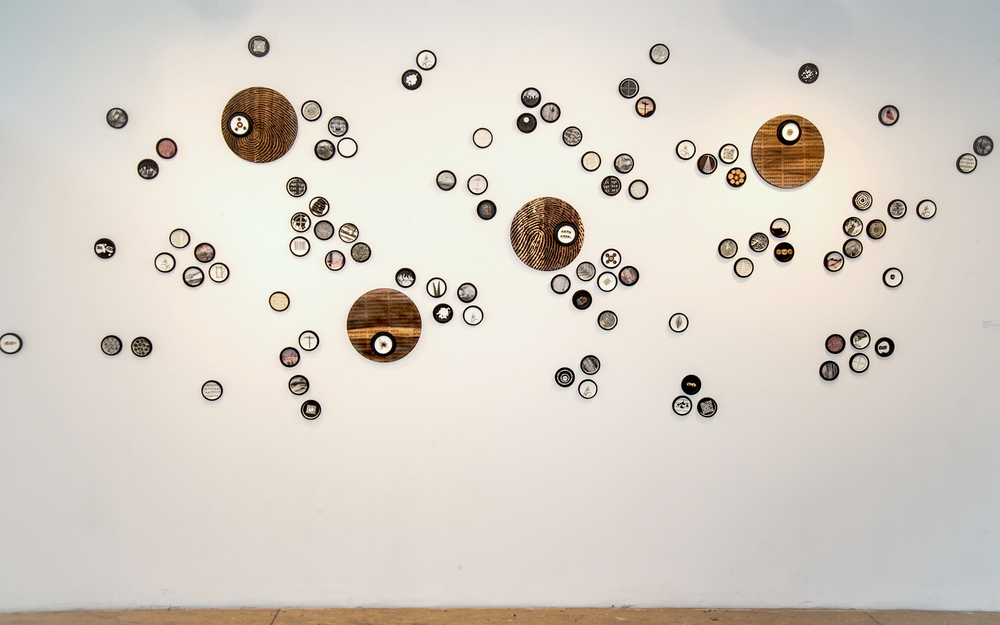 Tracy Spadafora,  Collection , installation view.