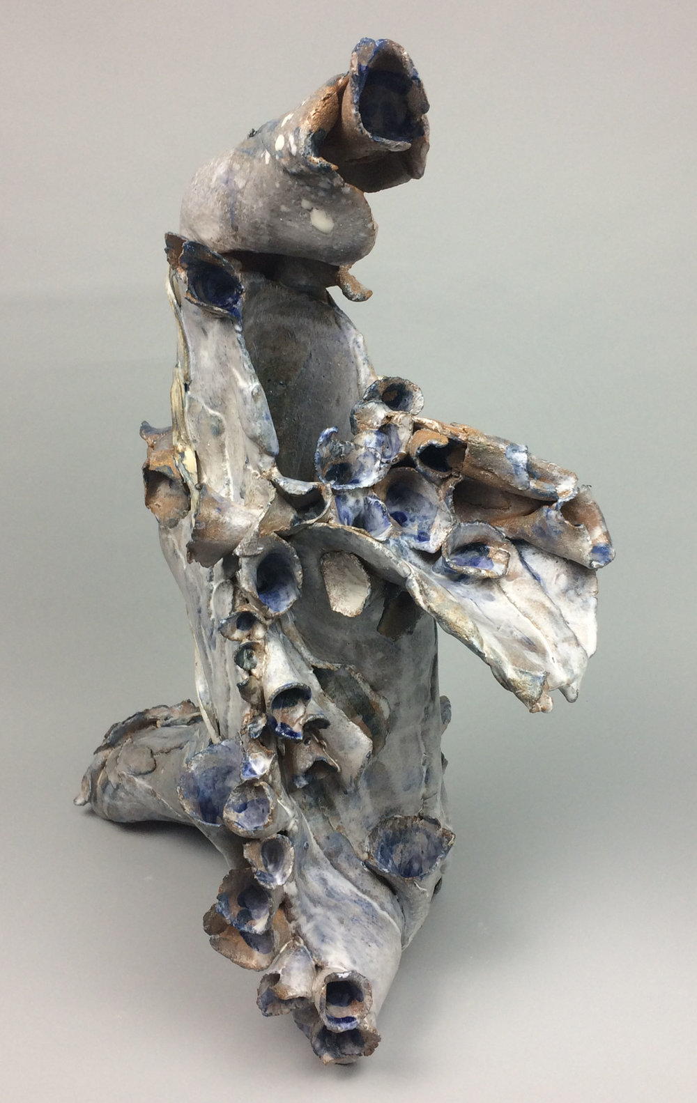 Sara Fine-Wilson,  Bent,  Stoneware, 20x16x18