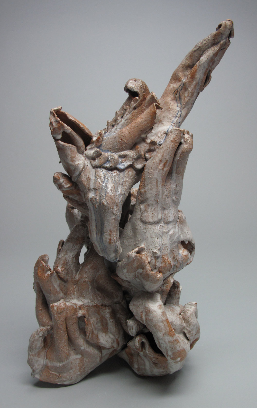 Sara Fine-Wilson, Point , Stoneware, 14x10x8