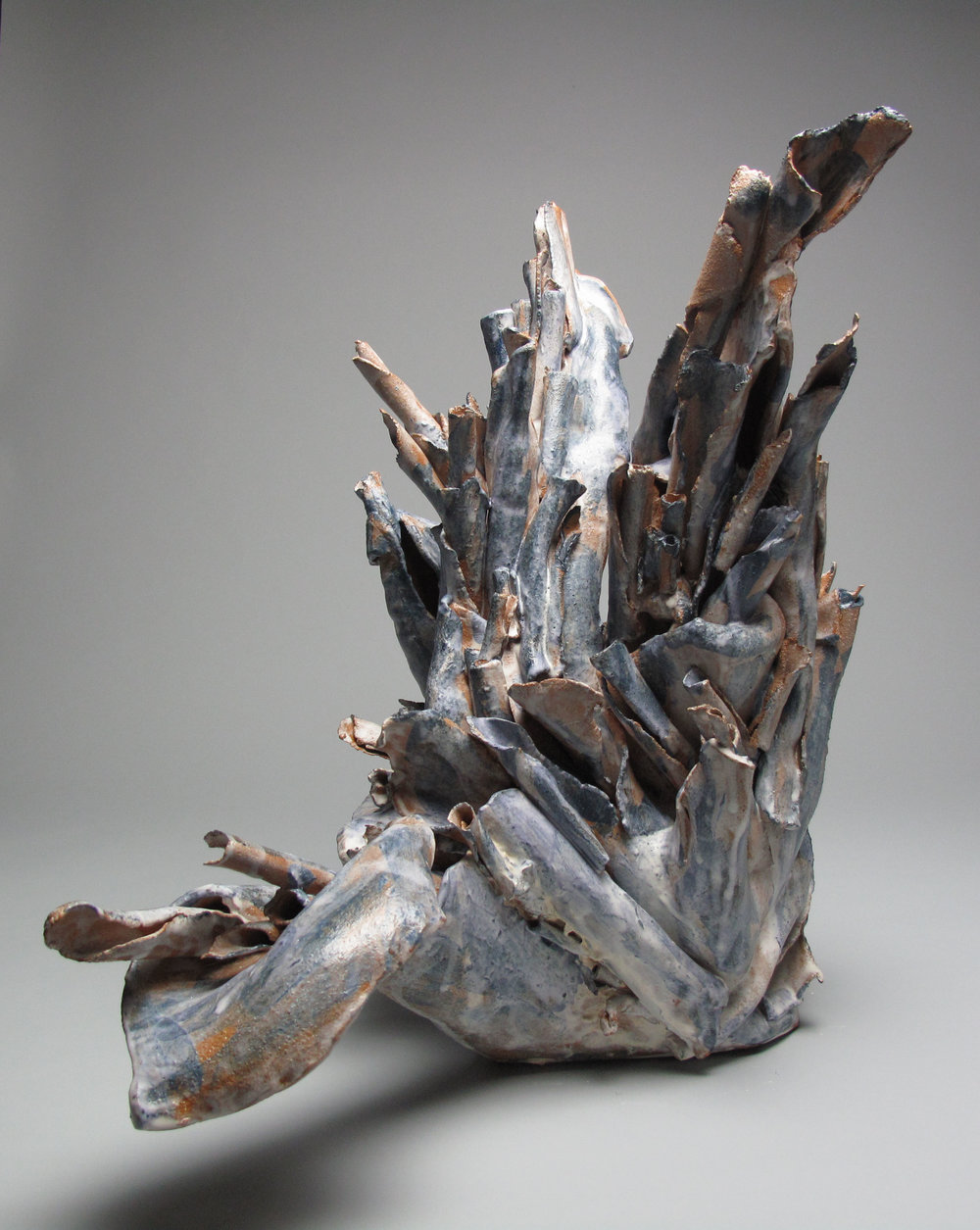 Sara Fine-Wilson,  Root , Stoneware, 18x16x8