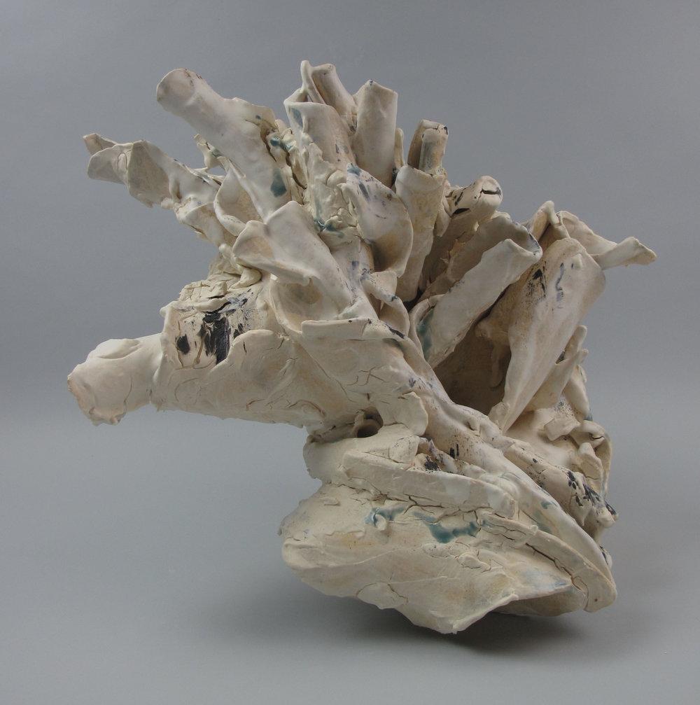 Sara Fine-Wilson,  Tight , Stoneware, 13x13x10