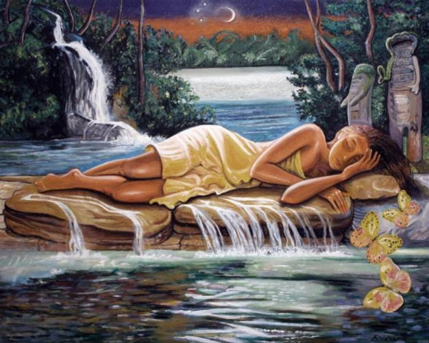 """Jose Rodeiro, """"Agua Dulce (Ochun Asleep)"""""""