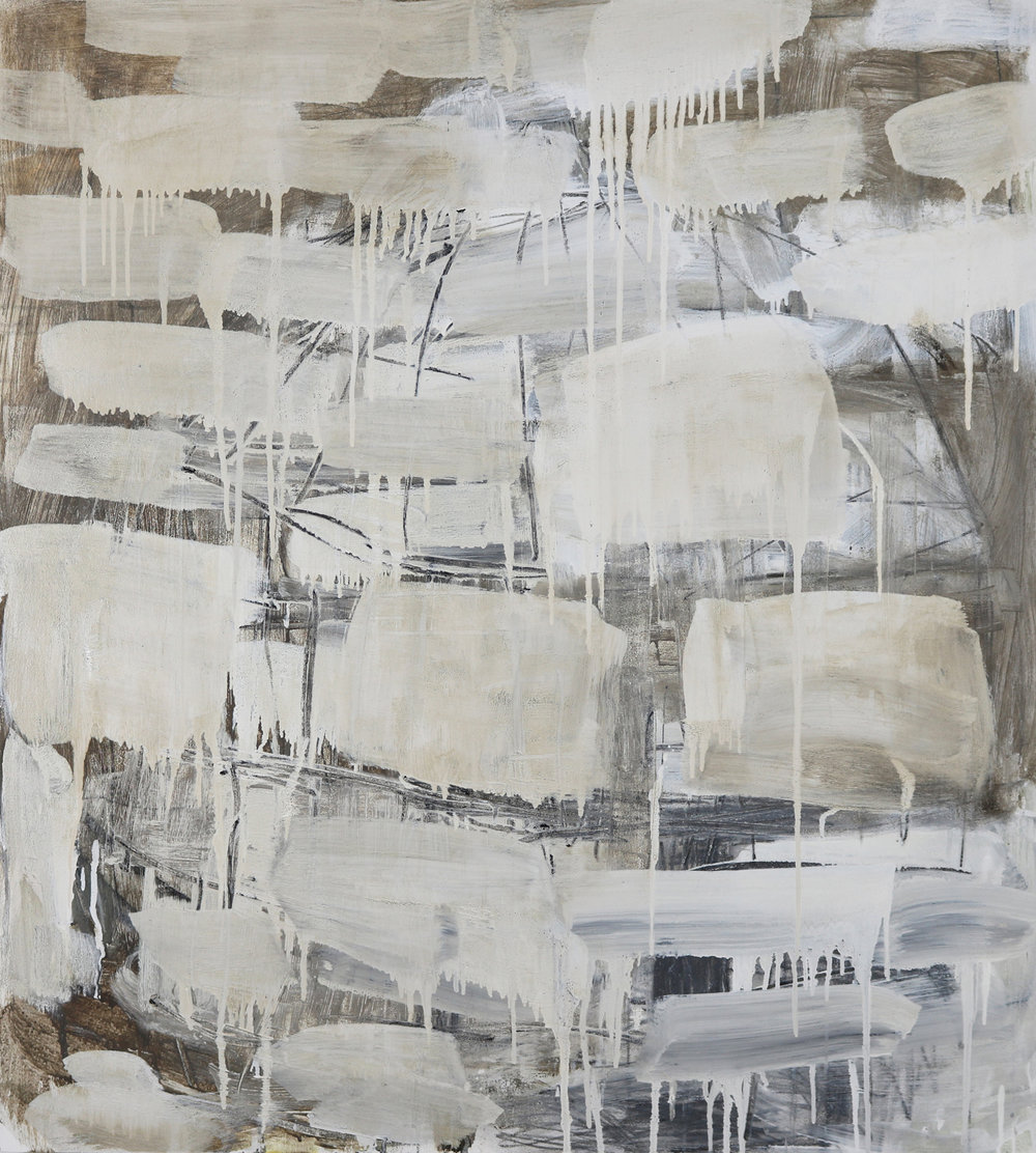 Leslie Zelamsky,  Dwelling VI , Mixed media, 40x36